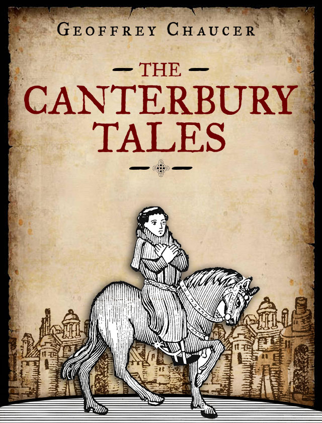 an analysis of geoffrey chaucers portrayal of the squire and the wife of bath in the canterbury tale
