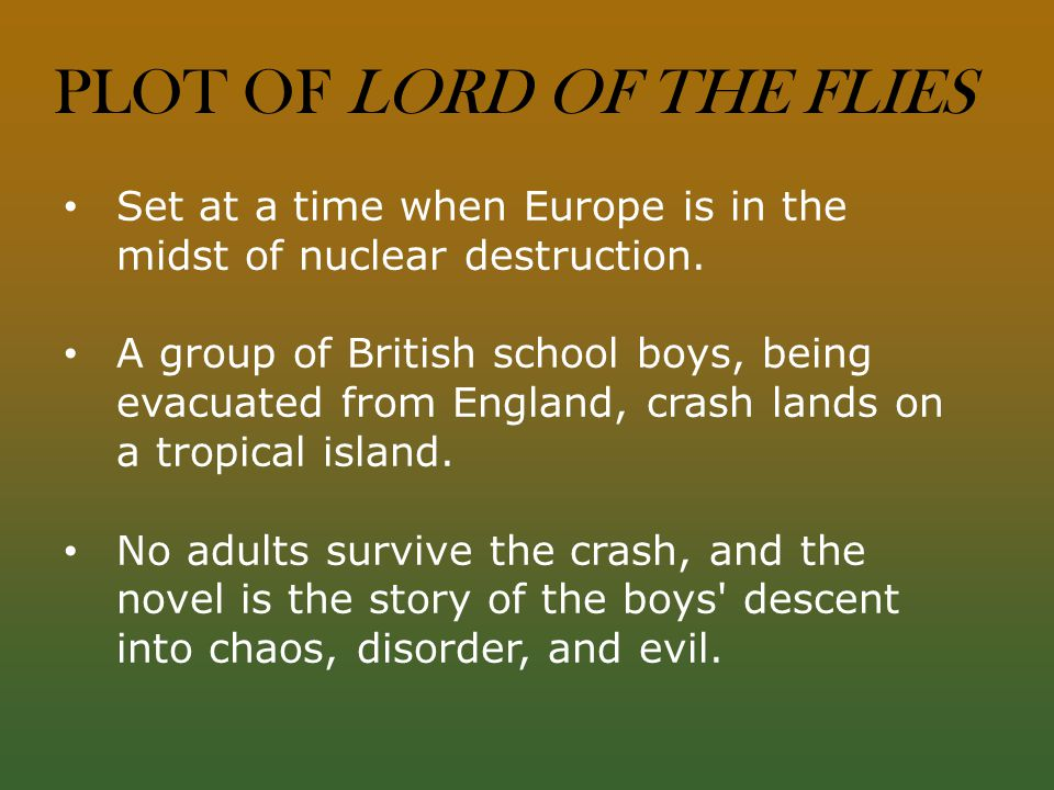 Lord of the flies essay symbol