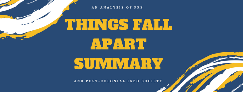 Things Fall Apart Essay  Free Papers And Essays Examples